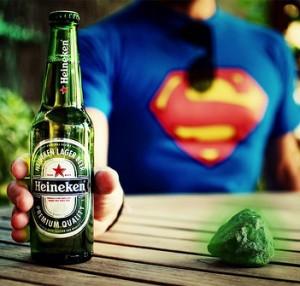 Heroes y villanos: Kriptonita - cerveza