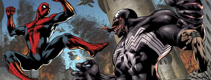 Heroes y villanos: Spiderman vs Venom