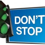 No frenes, no te detengas